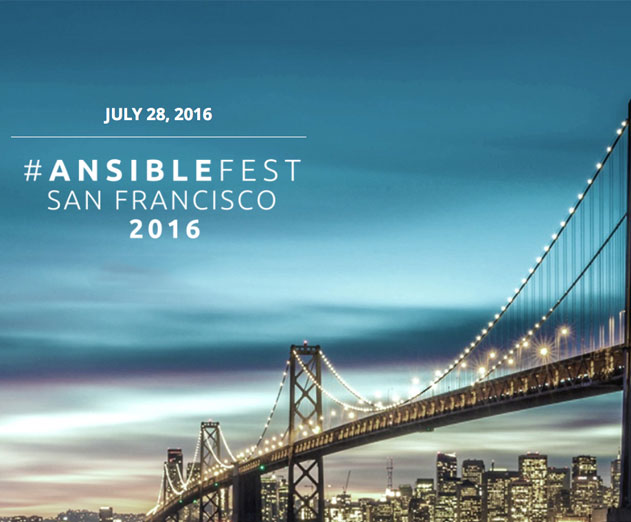 Open Source Ansible Community Will Converge at AnsibleFest in San Francisco on July 28