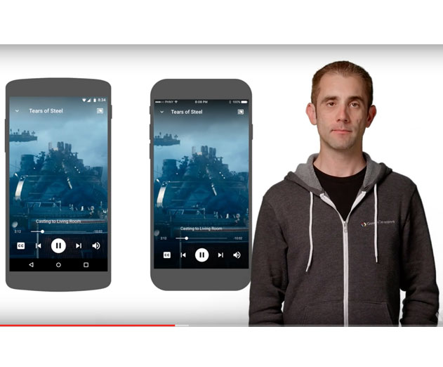 Google Releases Google Cast SDK for Android and iOS