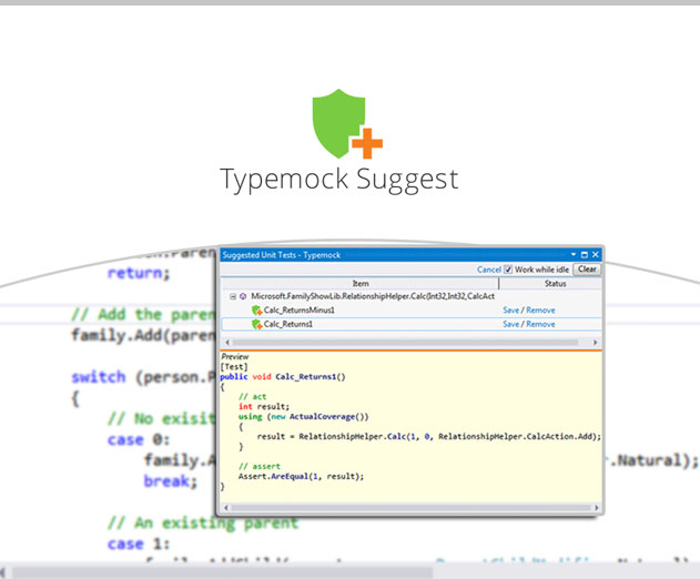 Typemock Releases Unit Testing Tool That Uses Artificial Intelligence to Offer Test Suggestions for Specific Code