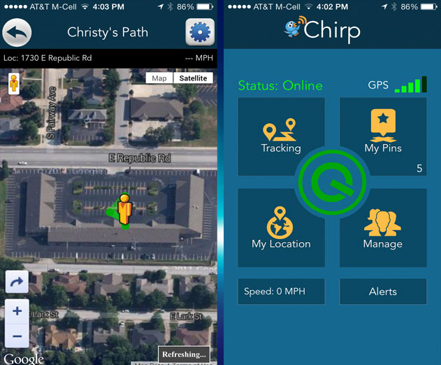 Chirp GPS Tracking App for Family and Friends Gets a Huge Update
