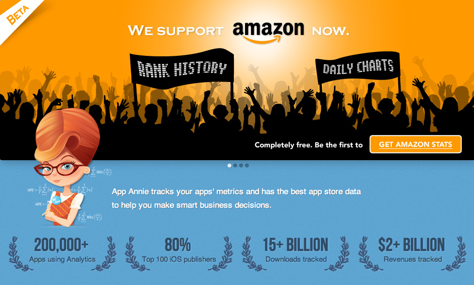 App Annie Now Supports Amazon Store Stats
