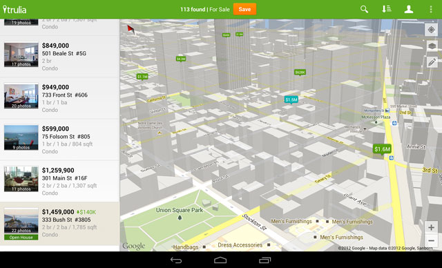 An update to the Google maps API is here
