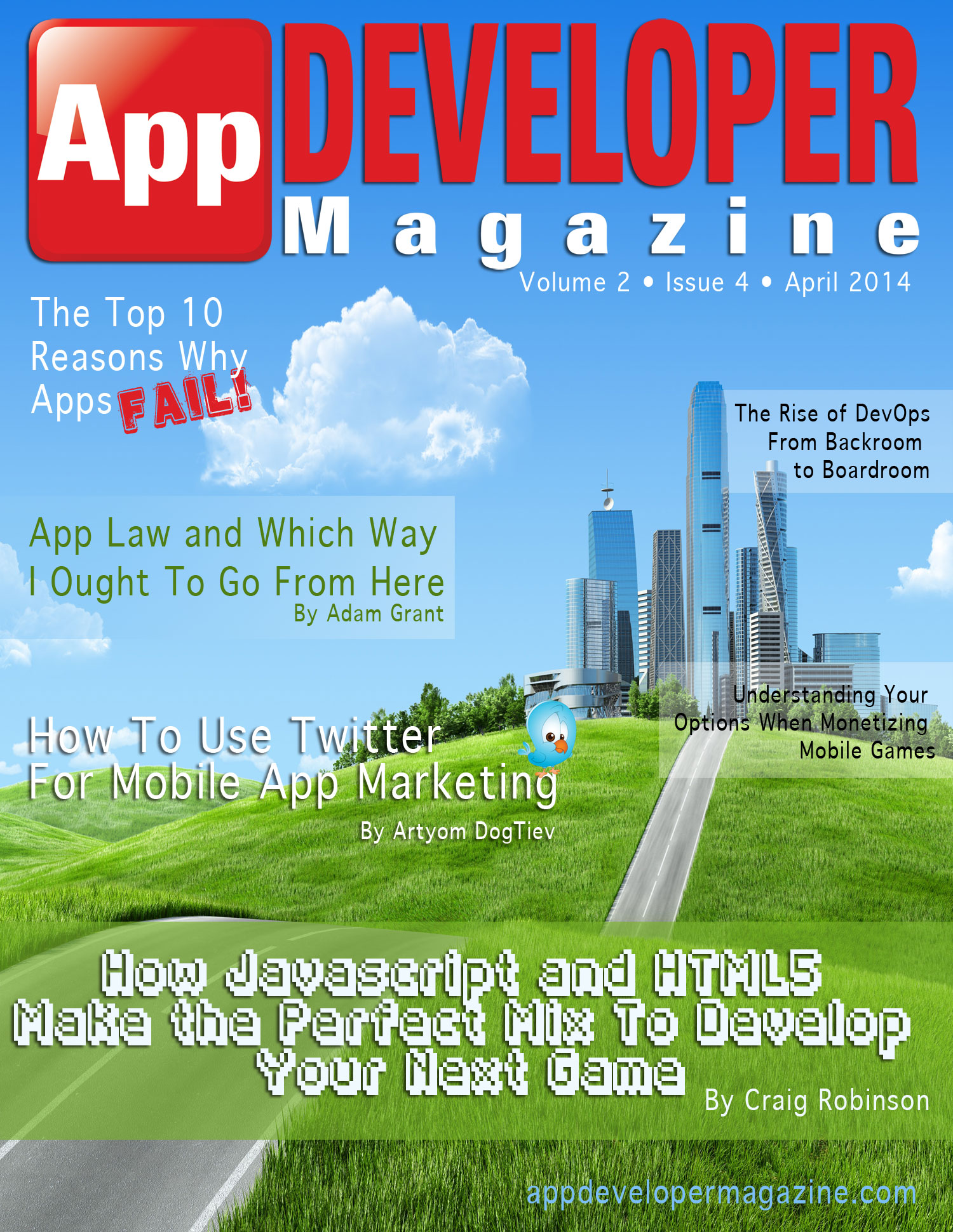 Read App Developer Magazine April 2014 issue