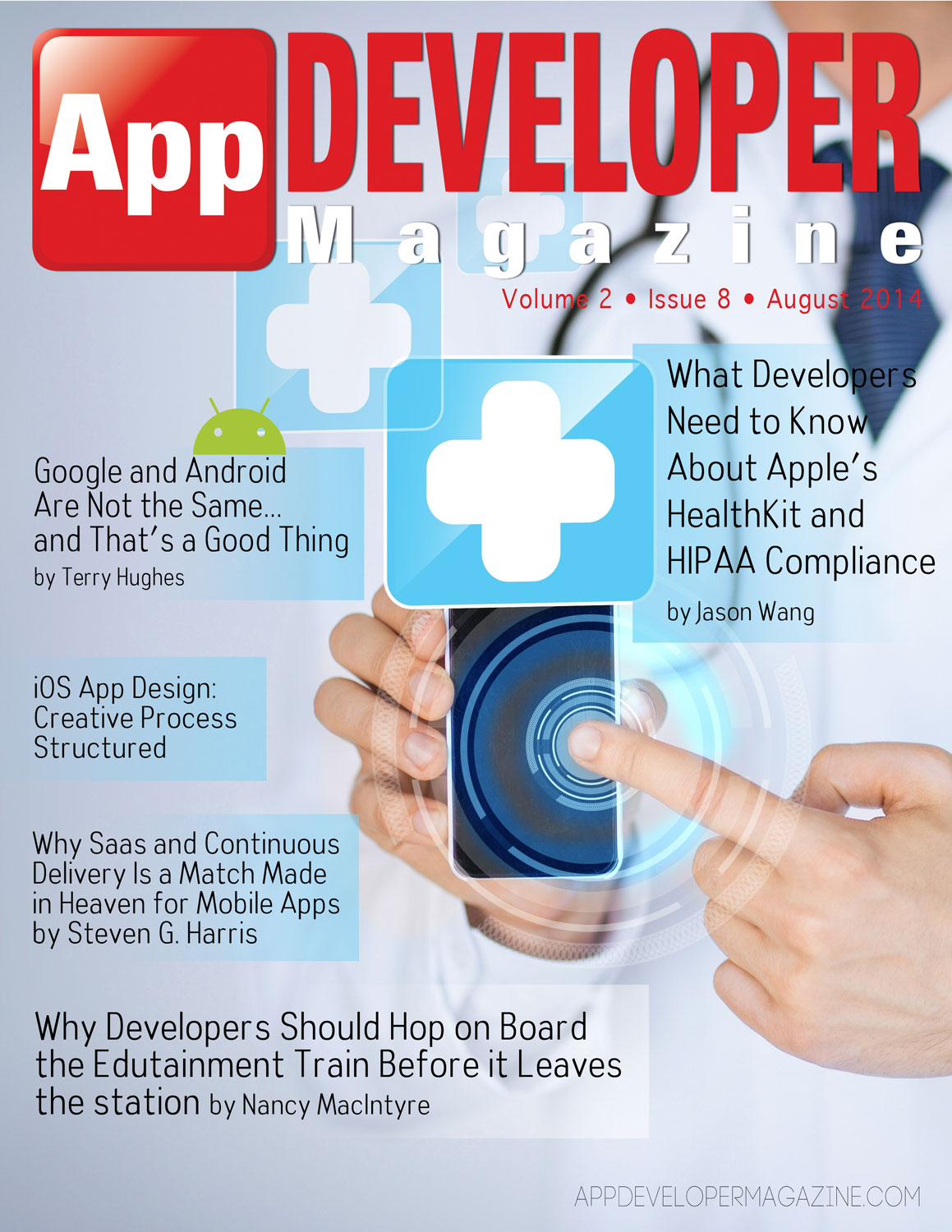 Read App Developer Magazine August 2014 issue