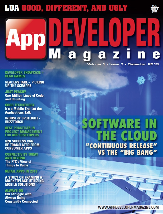 Read App Developer Magazine Dec13 issue