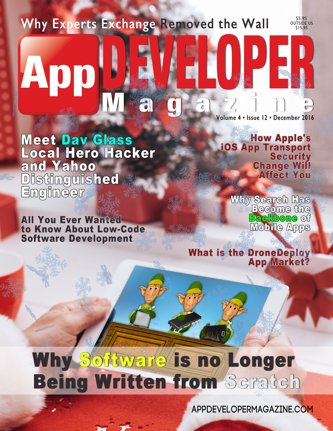 App Developer Magazine December 2016 Cover
