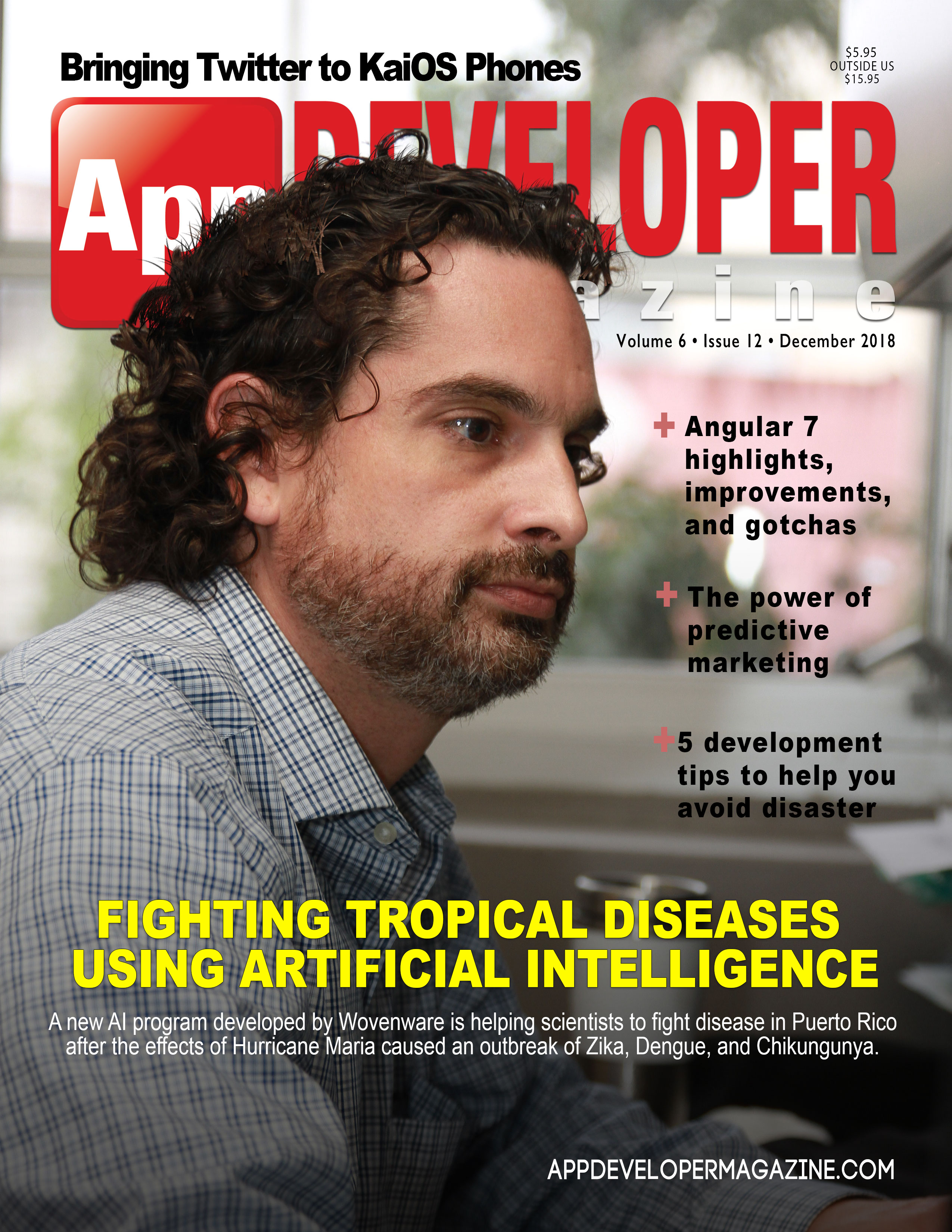 App Developer Magazine December 2018 Cover