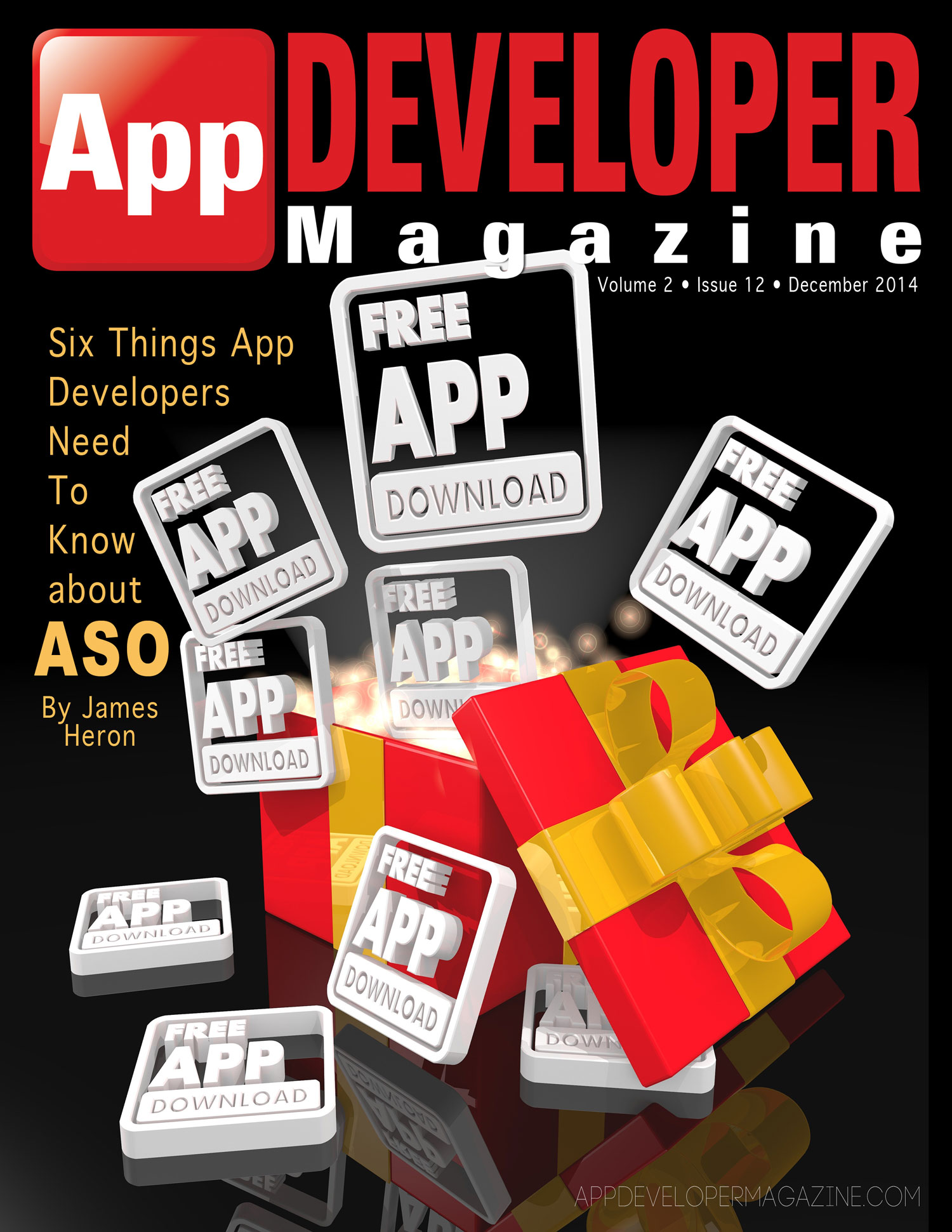 App Developer Magazine December Cover