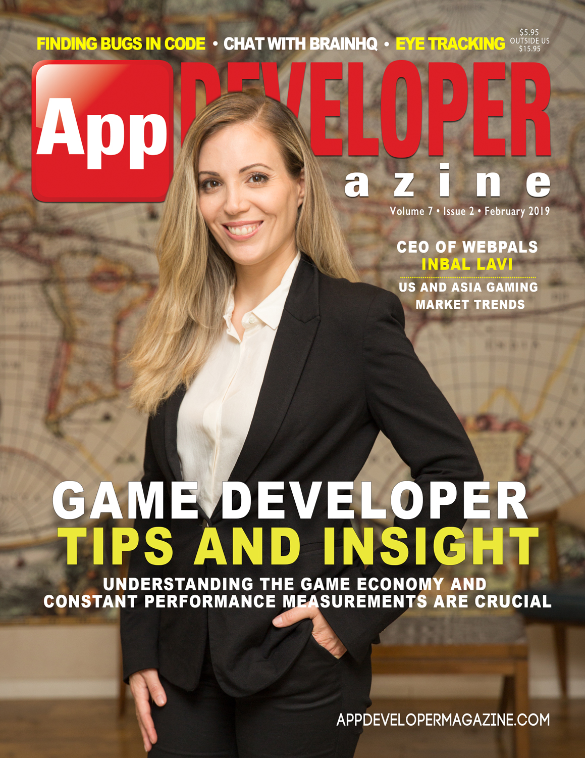 App Developer Magazine February 2019 Cover