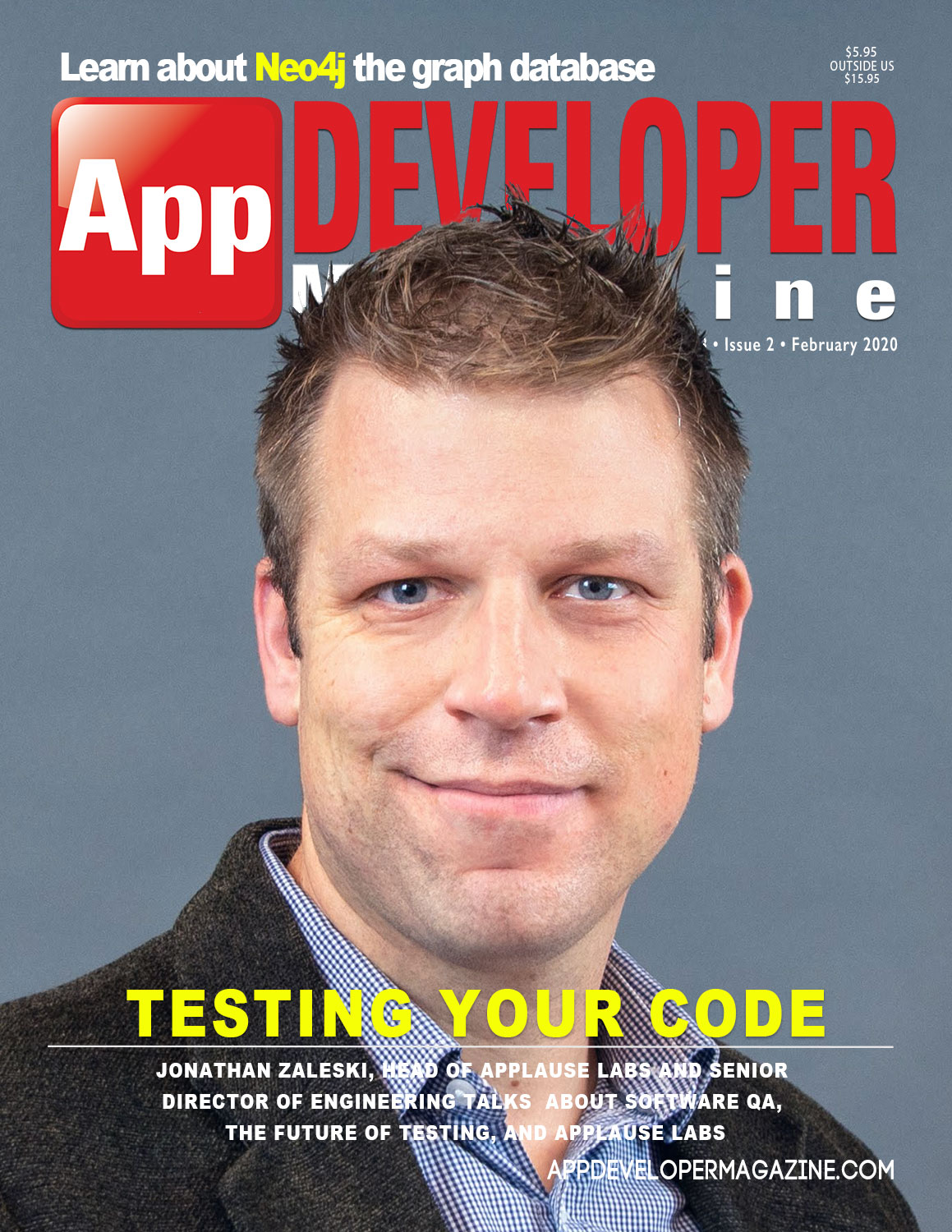 App Developer Magazine February 2020 Cover