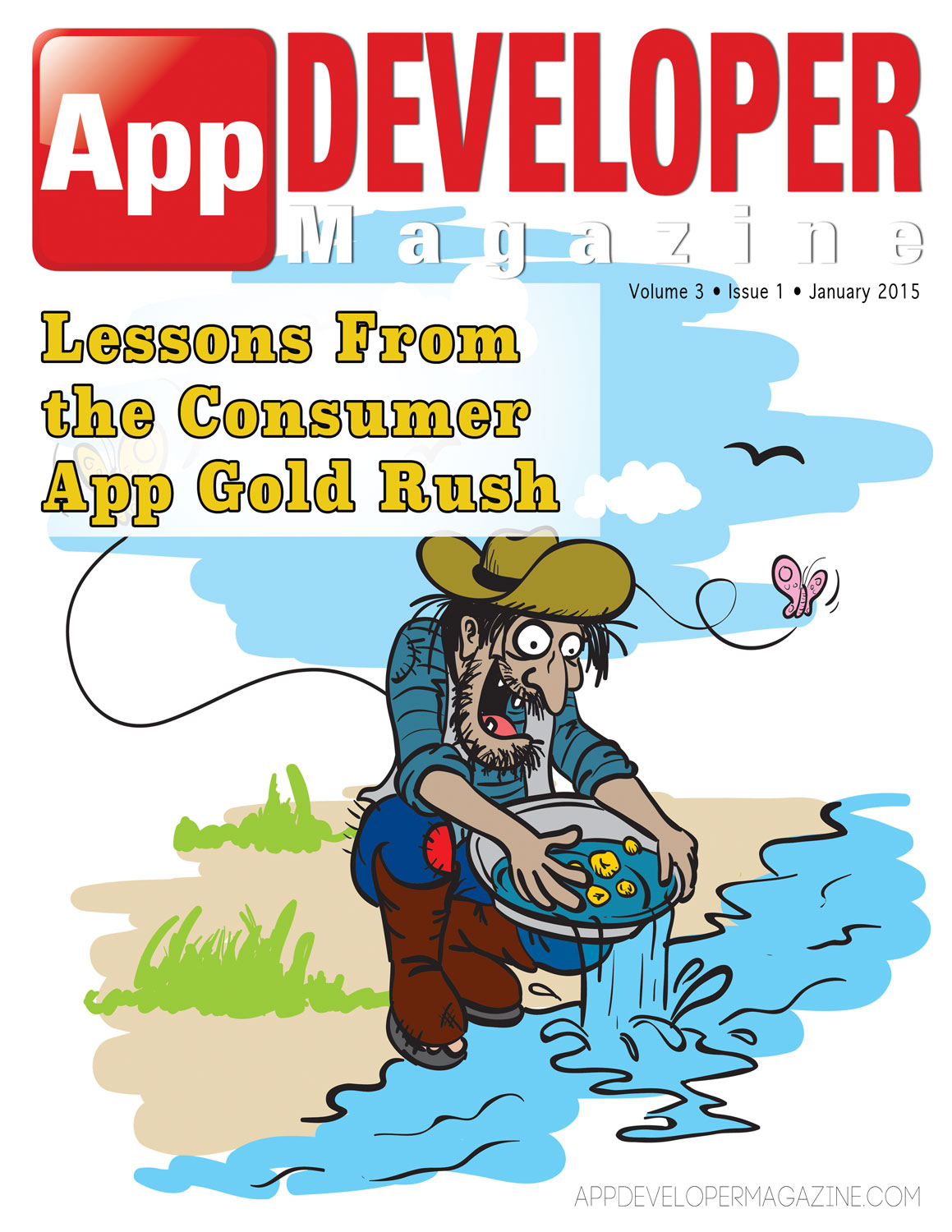 App Developer Magazine January 2015 Cover