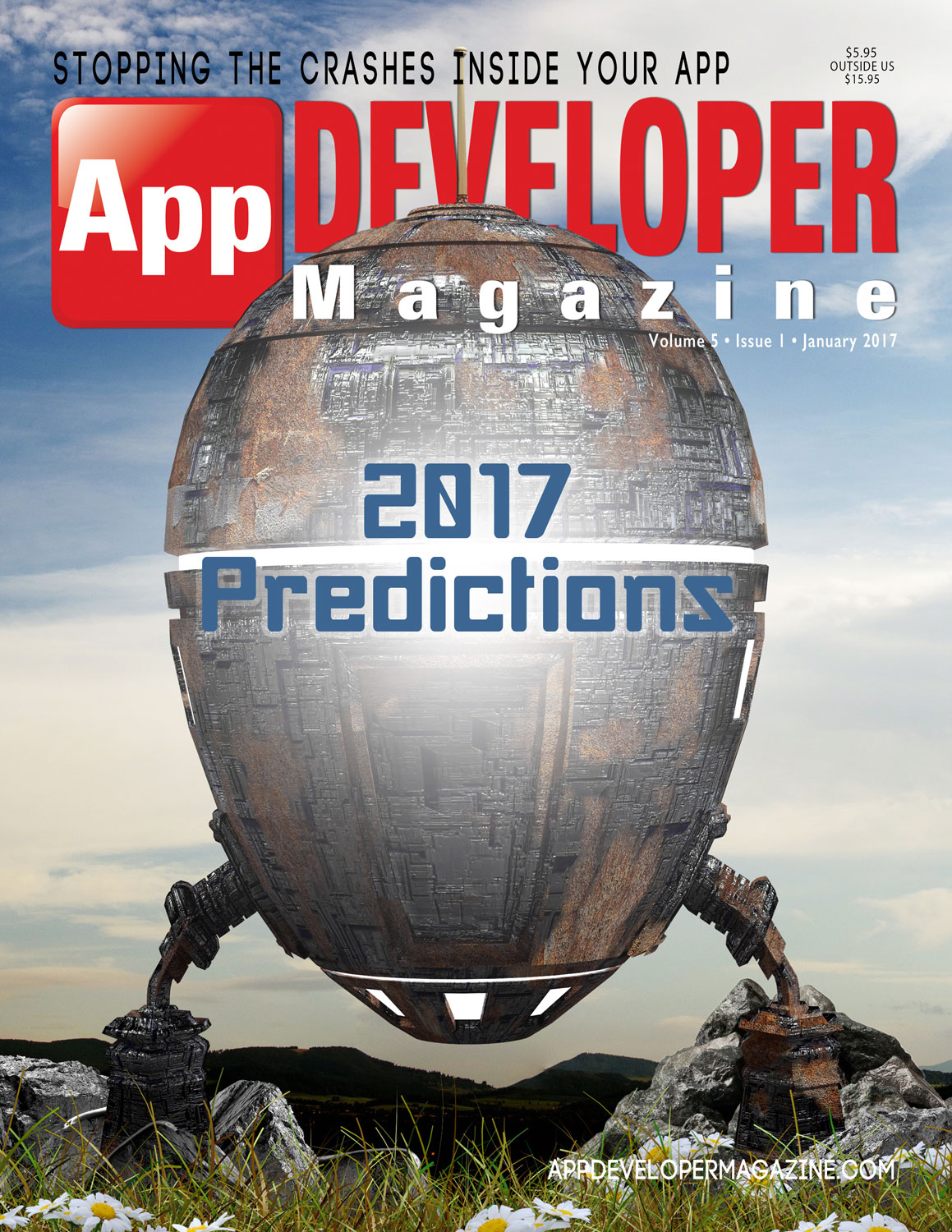 Read App Developer Magazine January 2017 issue