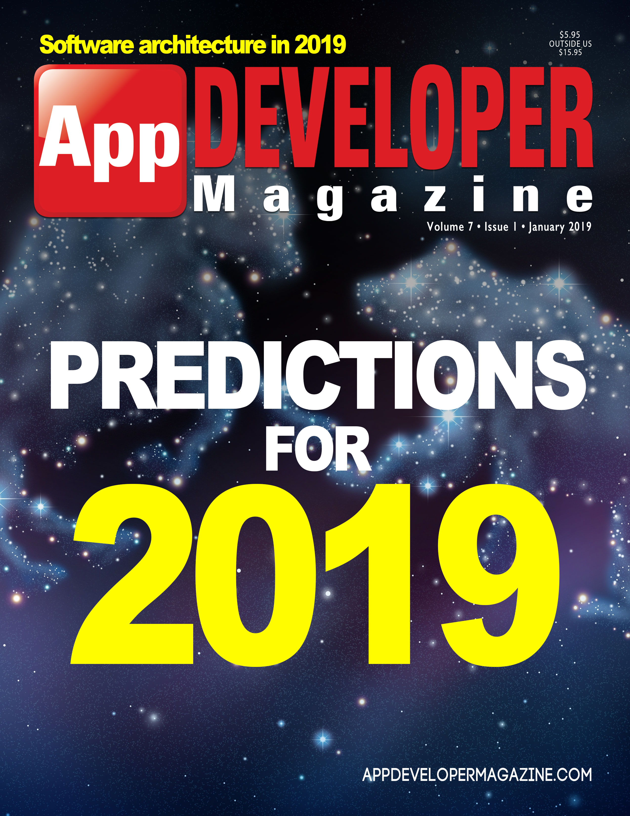 App Developer Magazine January 2019 Cover
