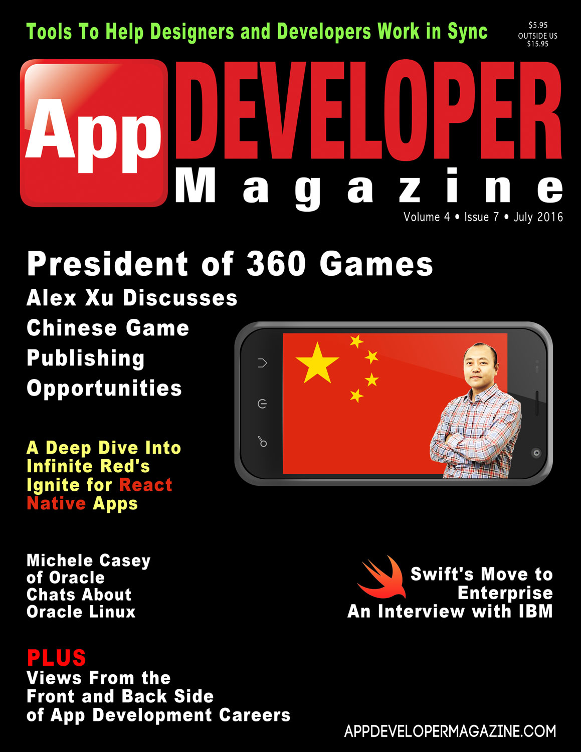 Read App Developer Magazine July 2016 issue