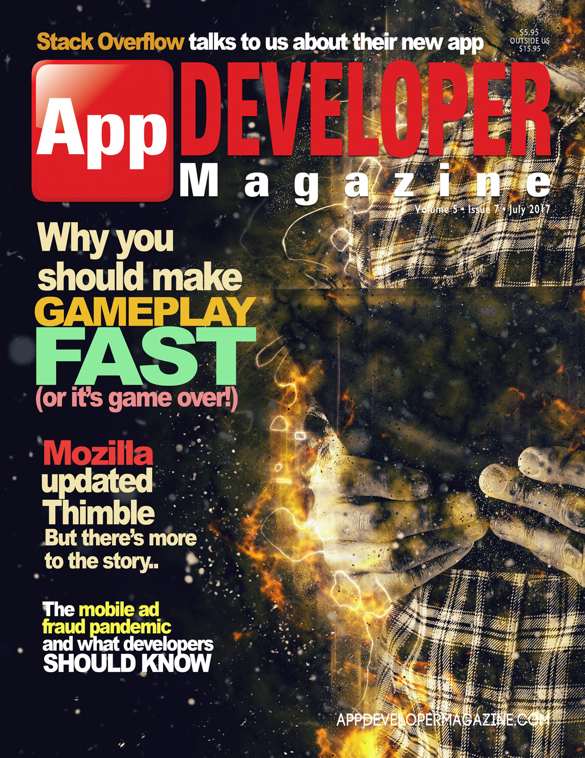 App Developer Magazine July 2017 Cover