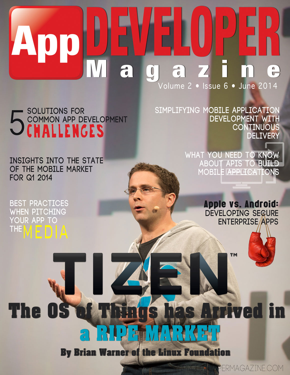 Read App Developer Magazine June 2014 issue