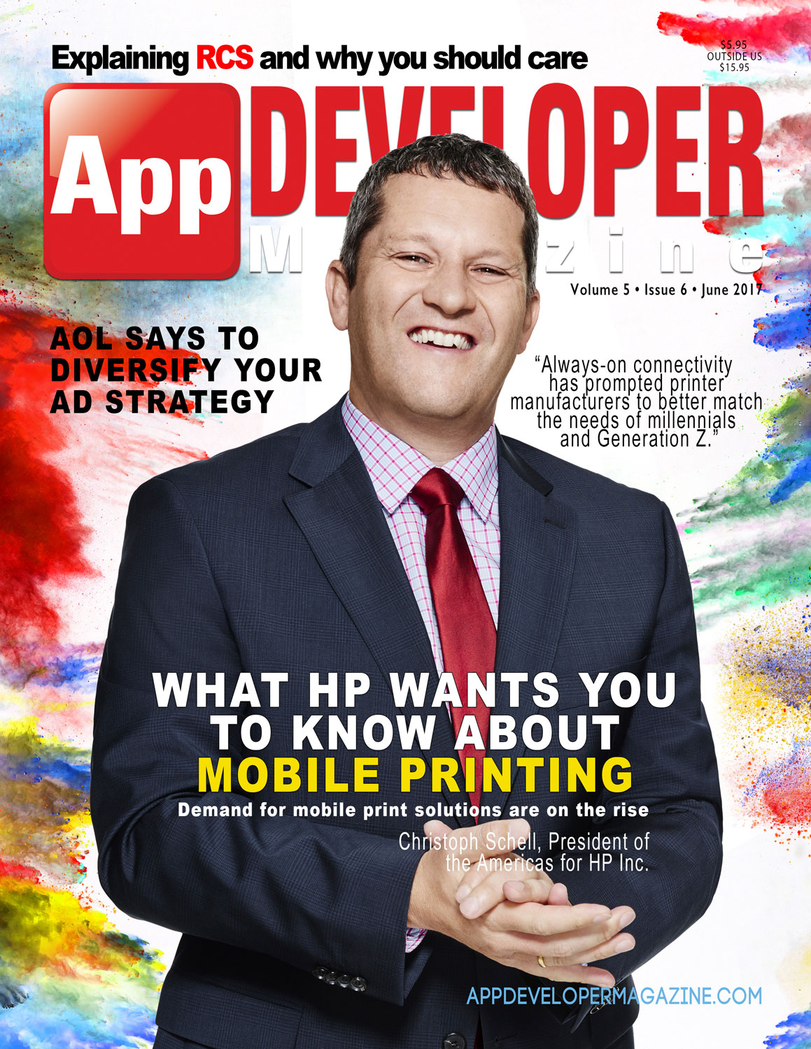 Read App Developer Magazine June 2017 issue