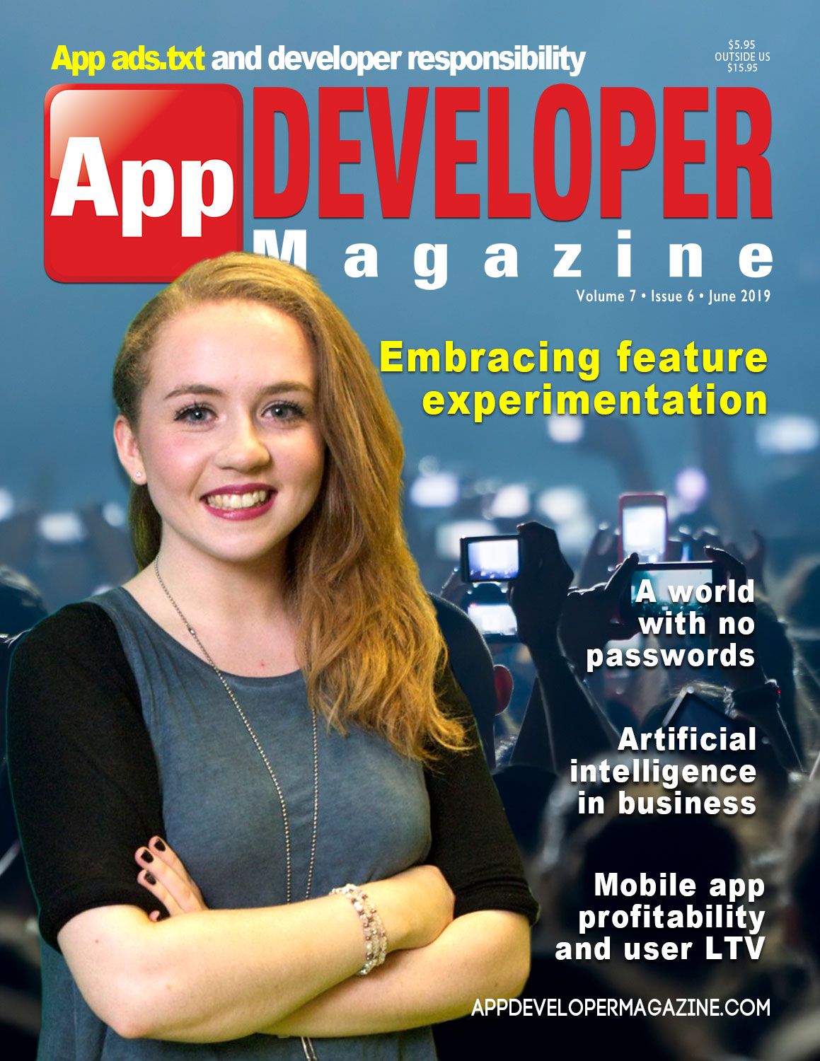 App Developer Magazine June 2019 Cover