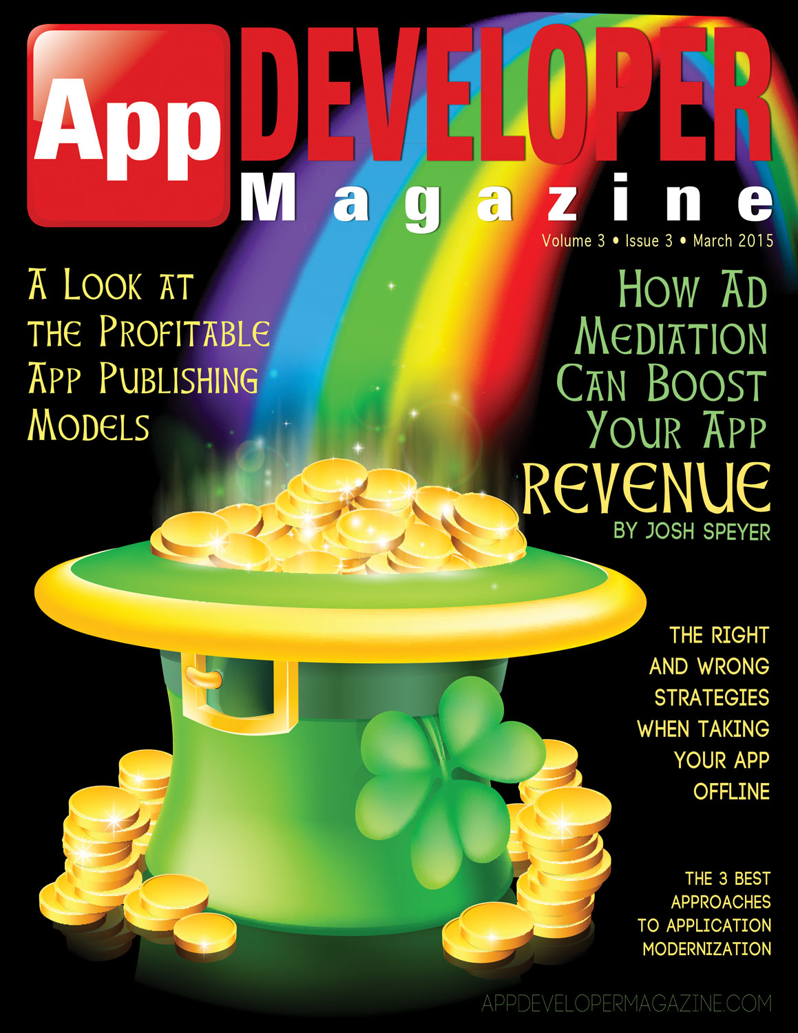 App Developer Magazine March 2015 Cover