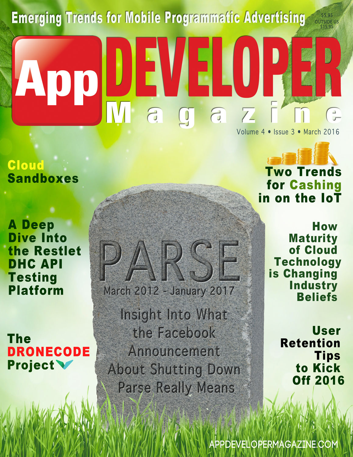 Read App Developer Magazine March 2016 issue