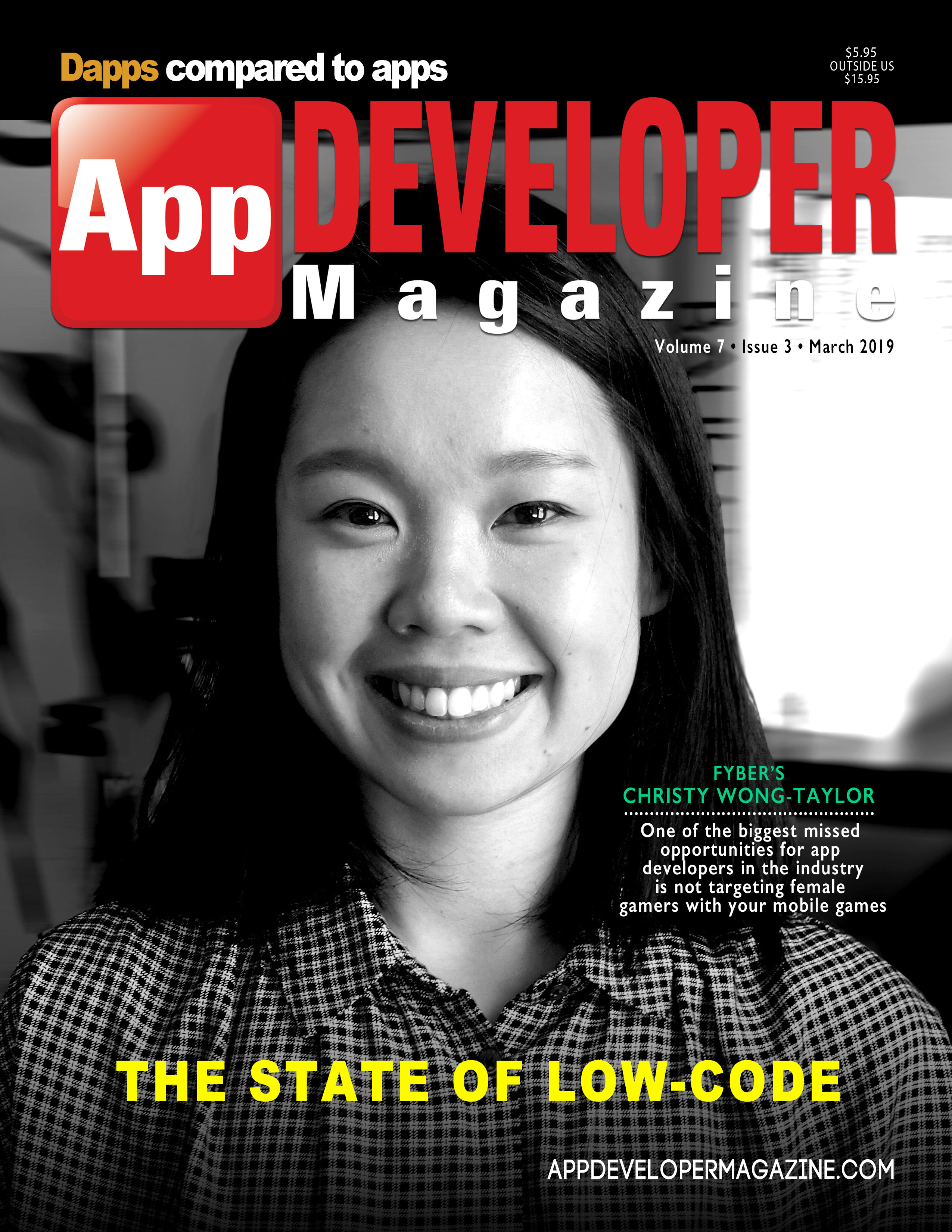 App Developer Magazine March 2019 Cover