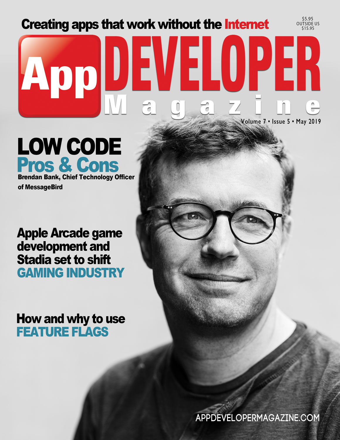 App Developer Magazine May 2019 Cover