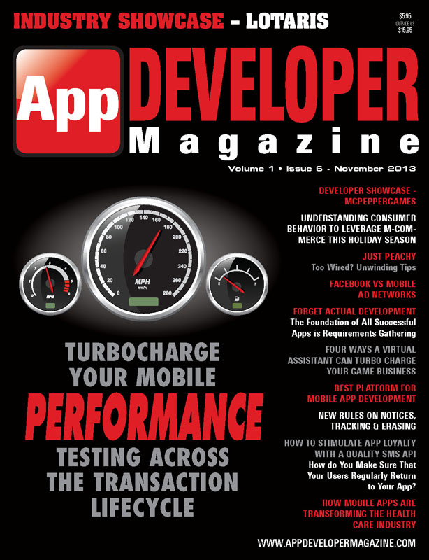 Read App Developer Magazine Nov13 issue