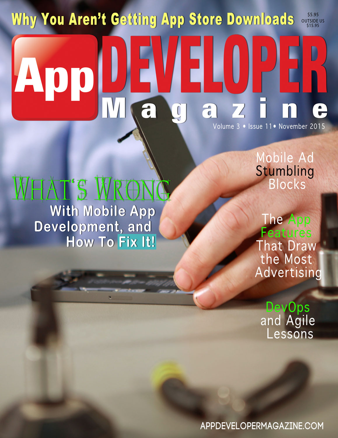 Read App Developer Magazine November 2015 issue