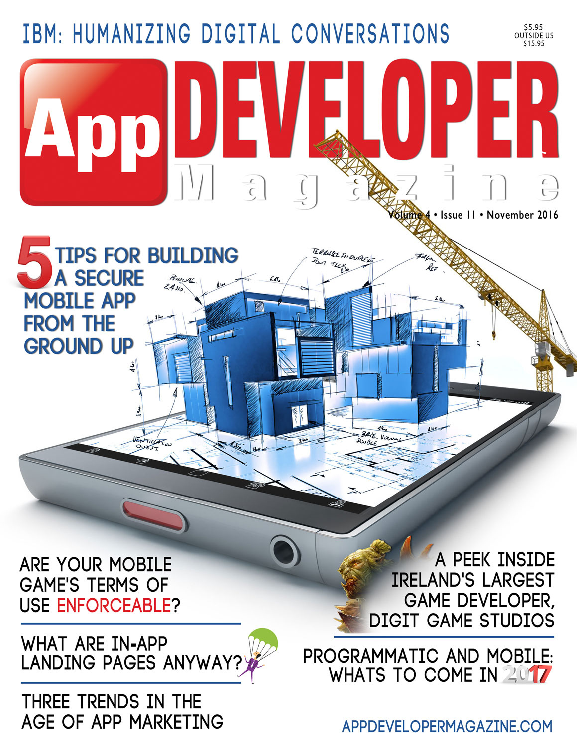 Read App Developer Magazine November 2016 issue