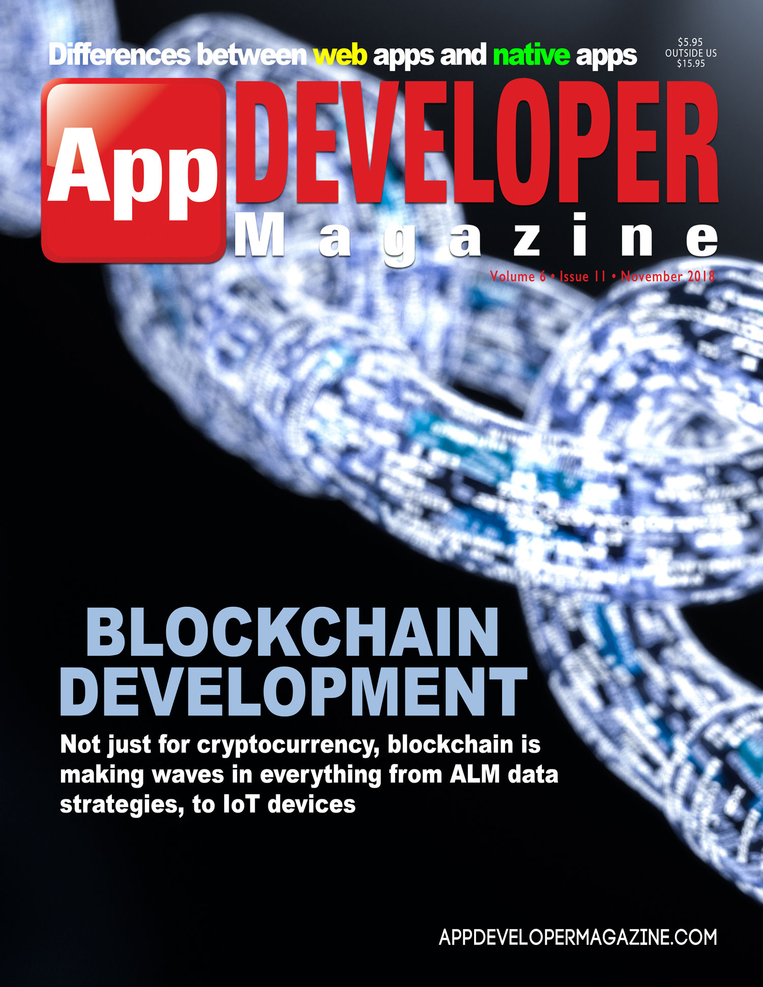 App Developer Magazine November 2018 Cover
