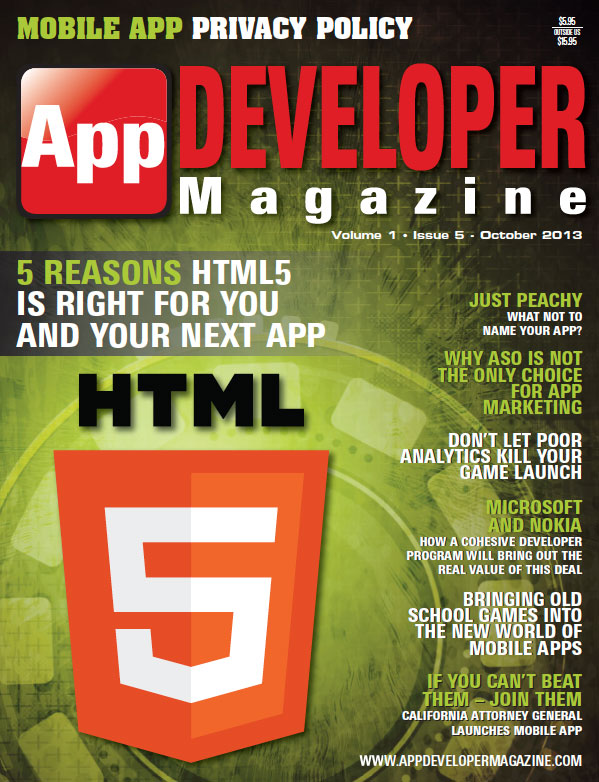 Read App Developer Magazine Oct13 issue