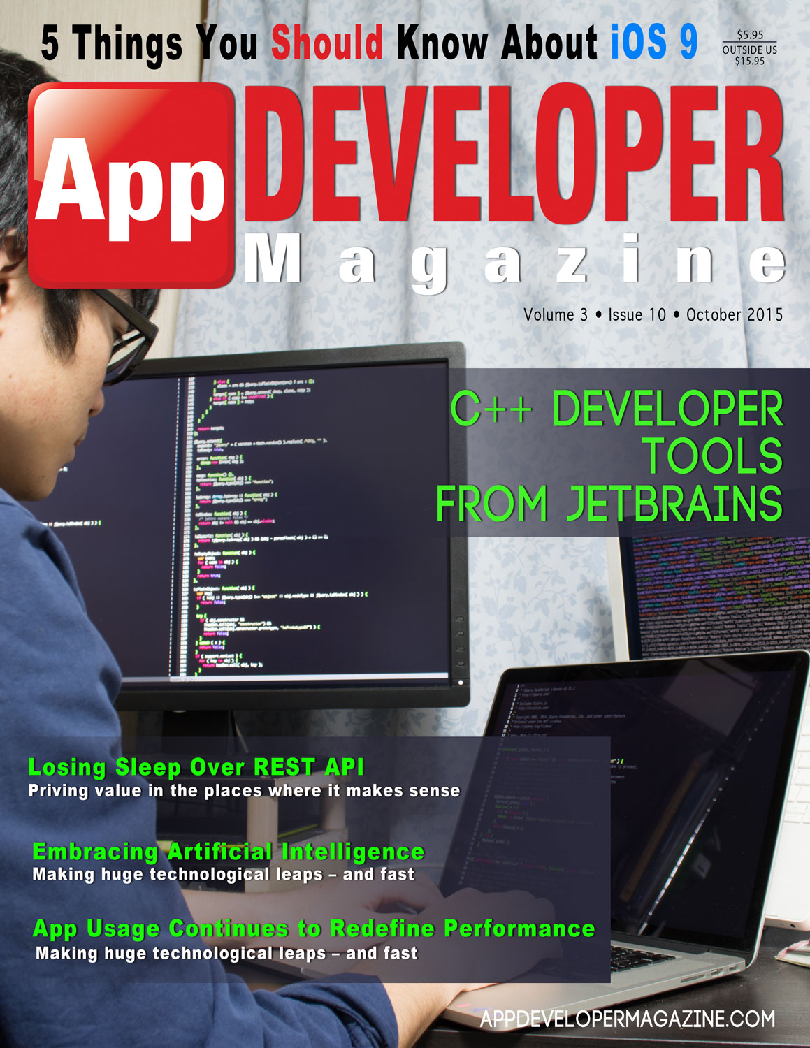 Read App Developer Magazine October 2015 issue