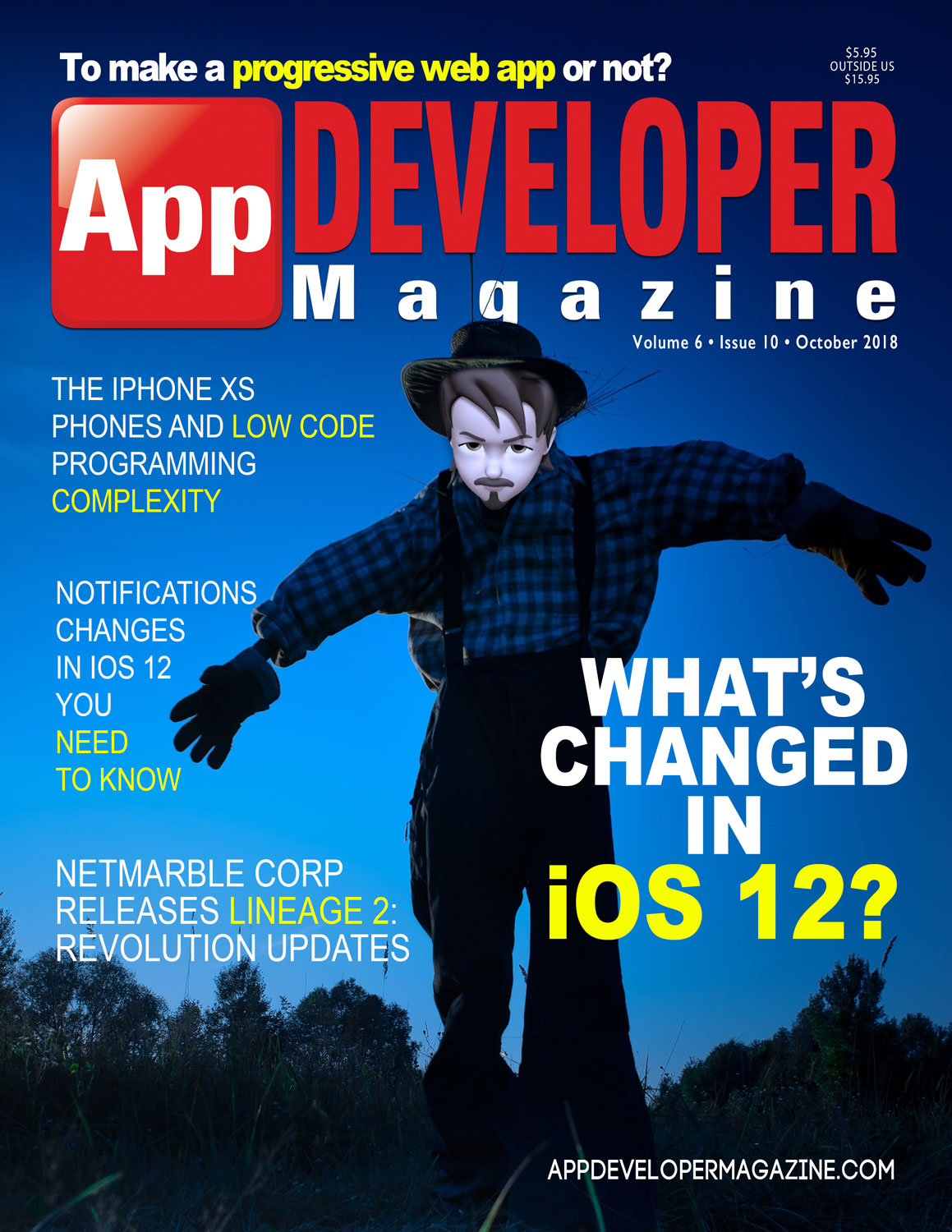 App Developer Magazine October 2018 Cover