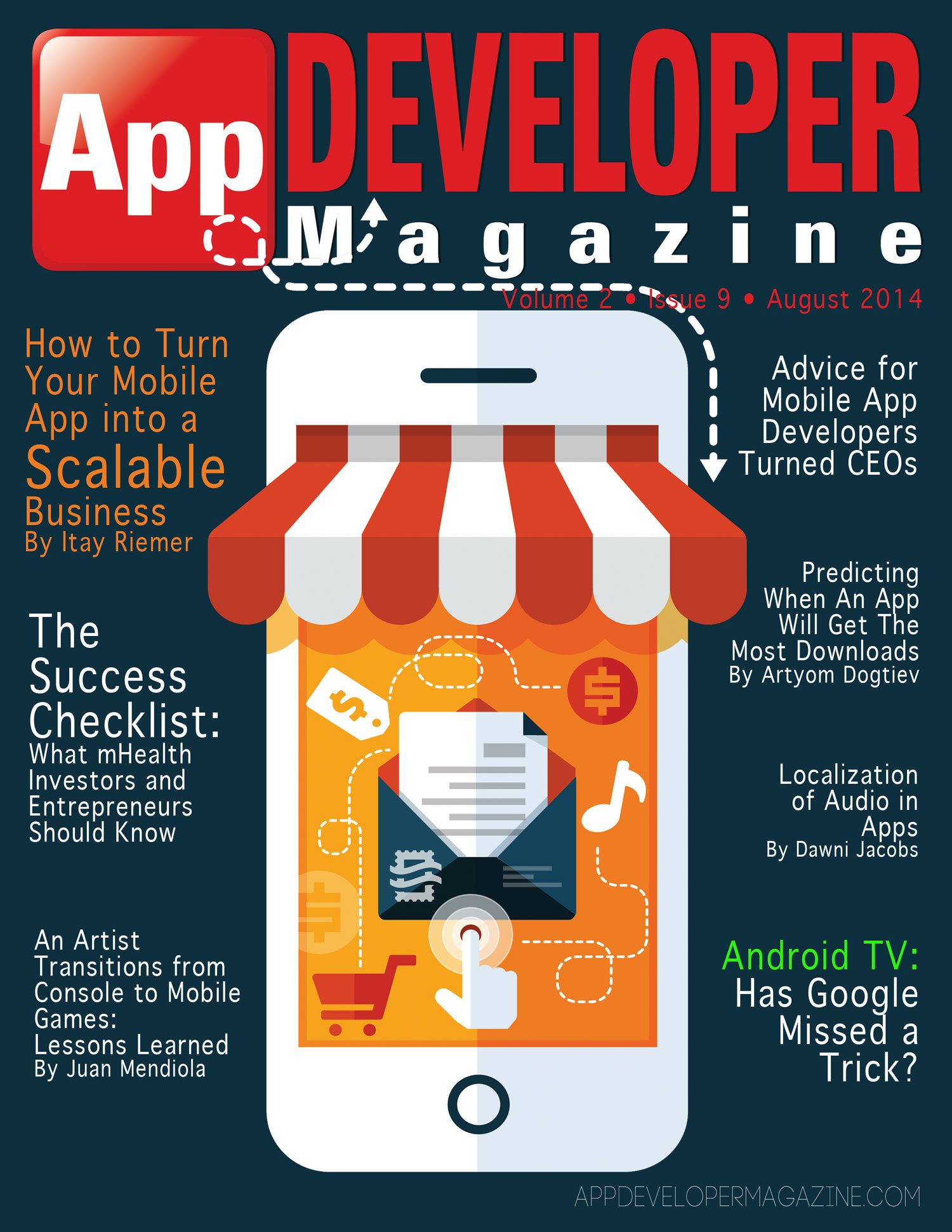 Read App Developer Magazine September 2014 issue
