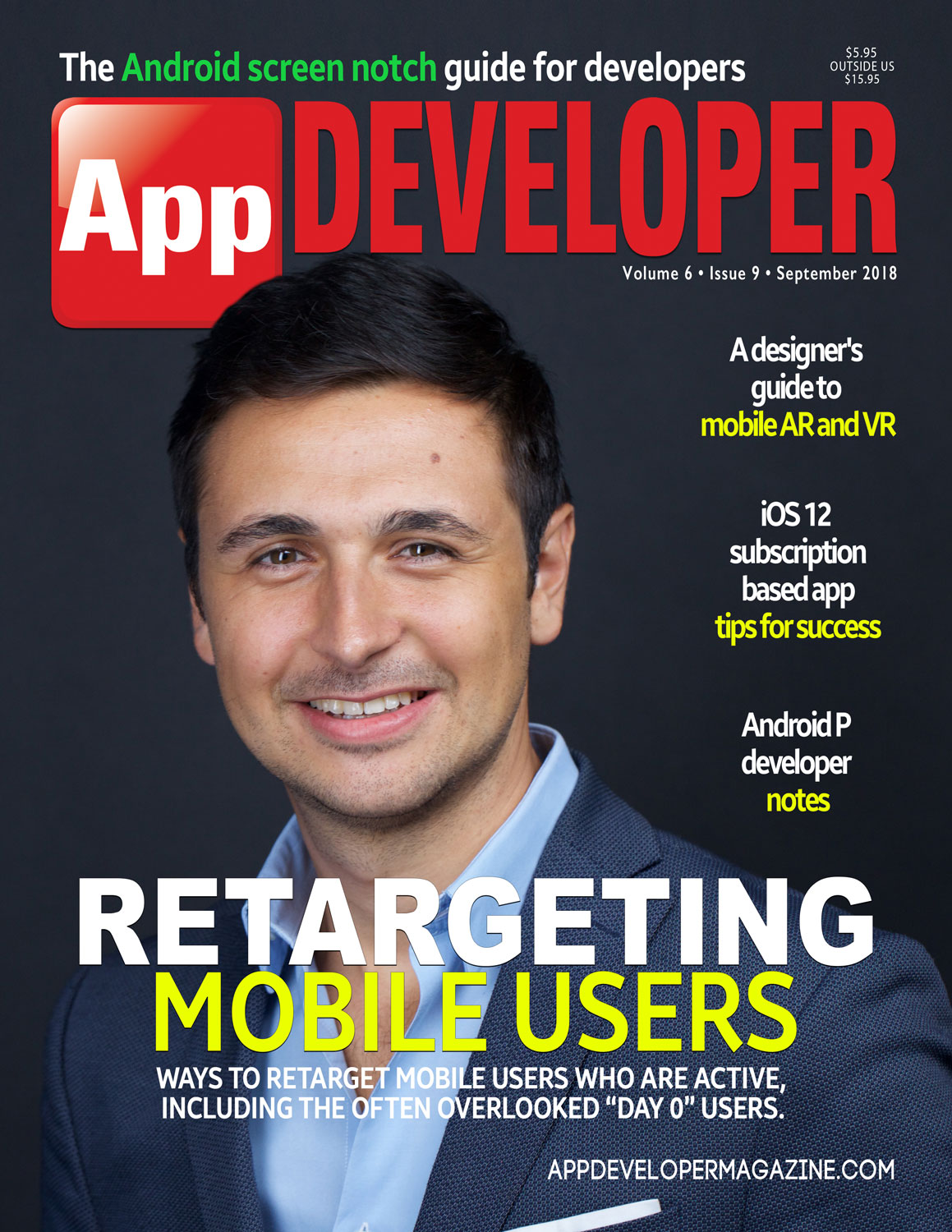 App Developer Magazine September 2018 Cover