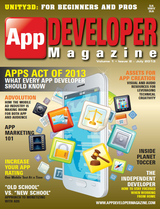 Read App Developer Magazine July13 issue