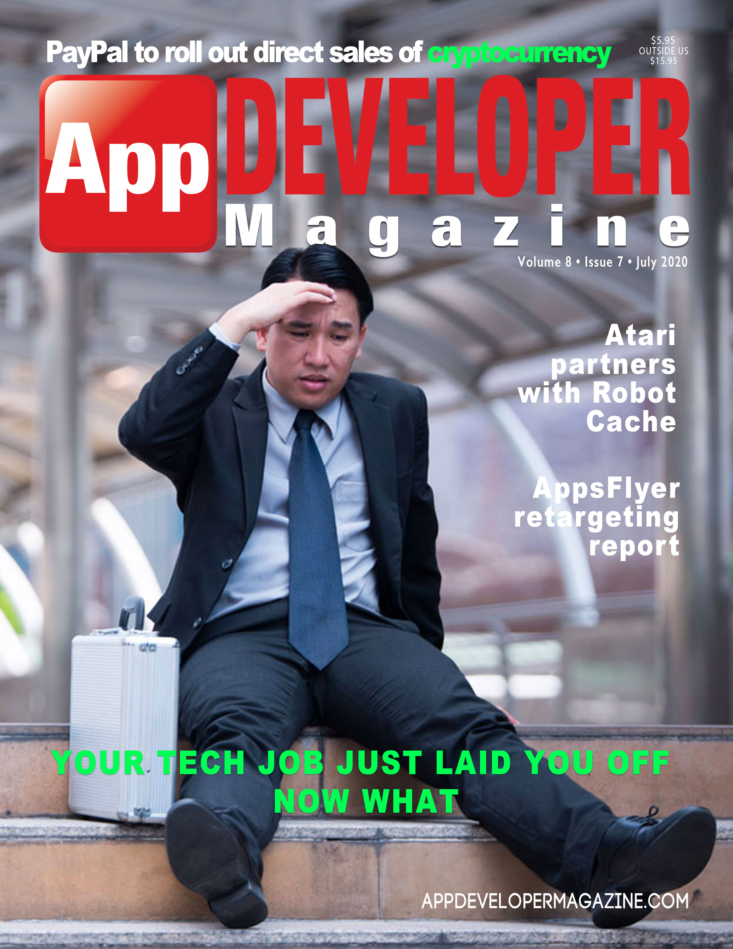 App Developer Magazine julycover