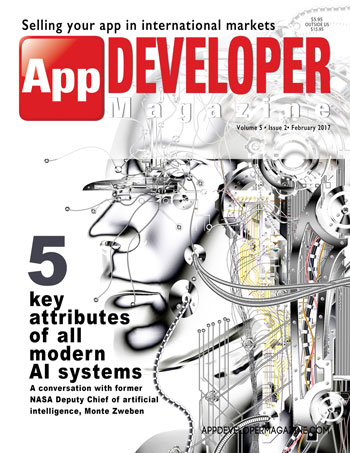 February 2017 Issue of App Developer Magazine
