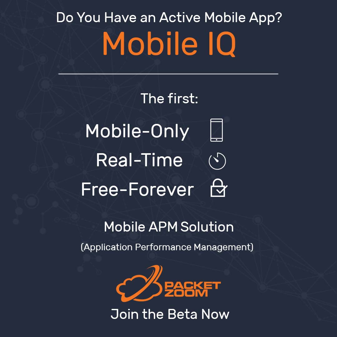 PacketZoom Mobile IQ Sitewide