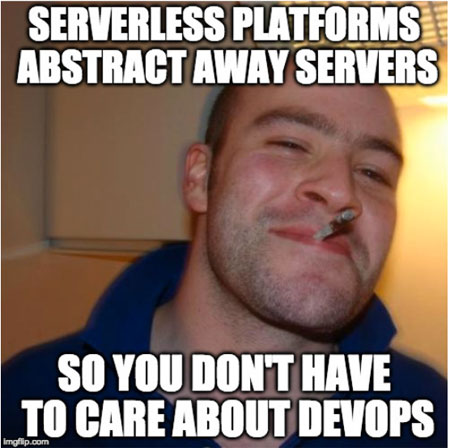 Serverless Platforms Meme