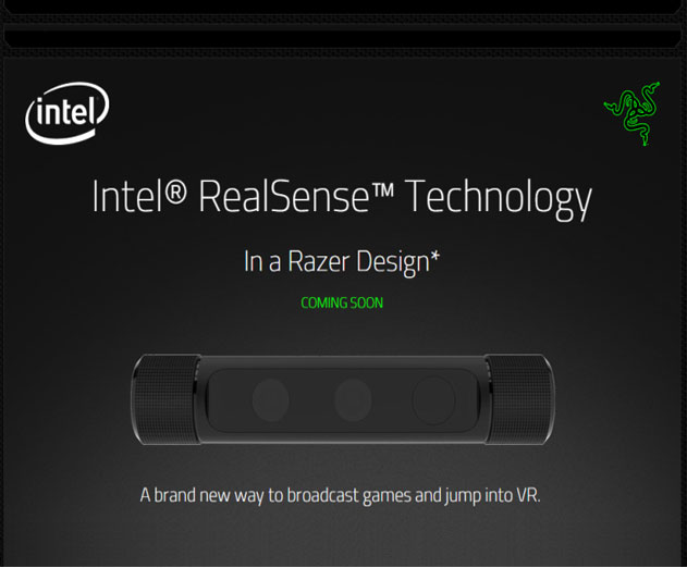 Razer Plans Launch of Consumer Ready Desktop and VR Enabled Camera