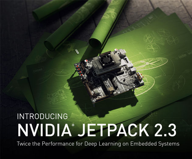 NVIDIA Releases JetPack 2.3 Into the Wild