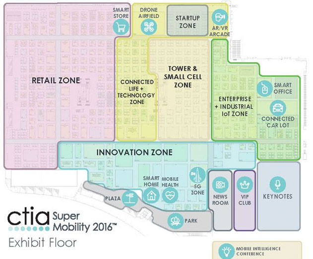 CTIA Super Mobility 2016 Will Turn Expo Floor Into a Smart City