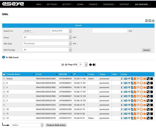 Eseye Offers Enhanced M2M Real Time Device Management