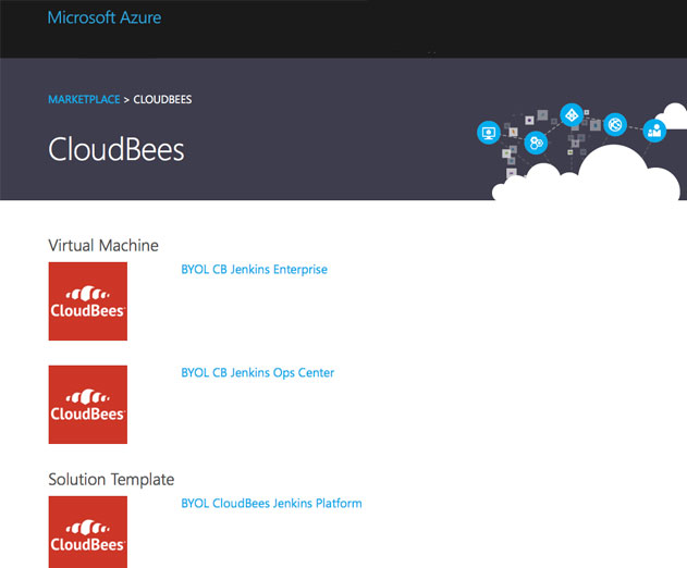 CloudBees Jenkins Platform Now Available in the Microsoft Azure Marketplace