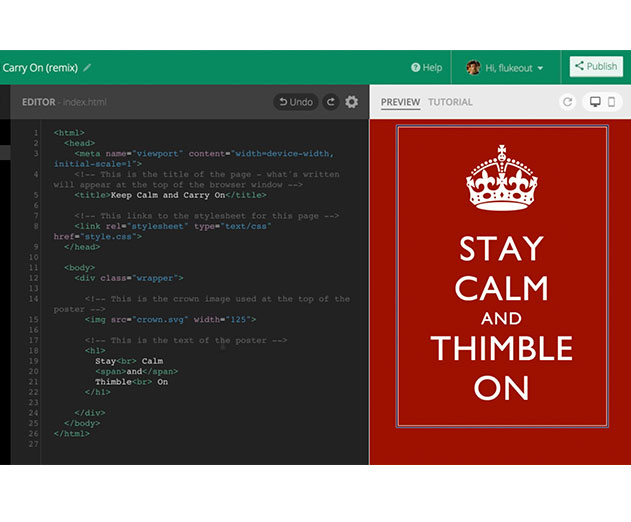 Mozilla updated Thimble but there is more to the story