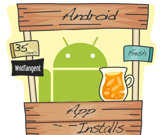 Buy App Installs For Your Android App at Just 35 Cents With WildTangent
