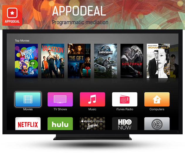 Appodeal TVOS SDK Now Available for Developers