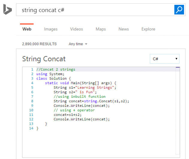 Microsoft&#039s Bing and HackerRank Offer Way to Play with Code