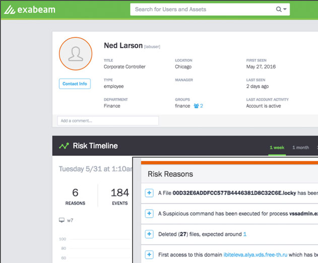 Exabeam Releases Security Intelligence Platform for Early Detection of Ransomware